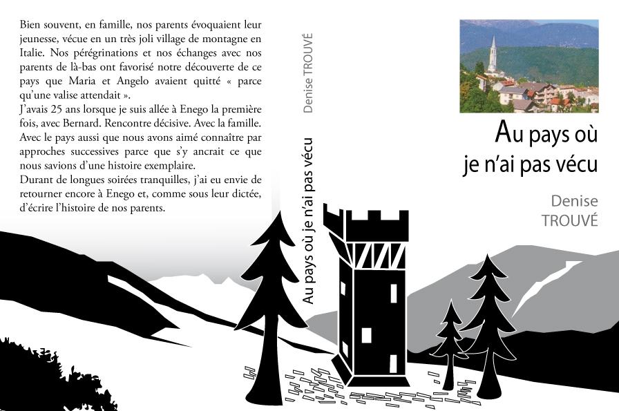 Couverture de livre faite avec Illustrator